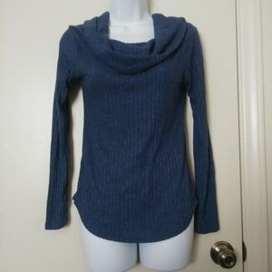 Potter's Pot cowl neck long sleeve sweater